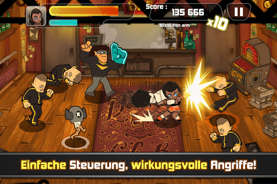 Combo Crew iPhone, iPad Screenshot